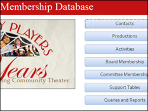 Four County Players Membership Database