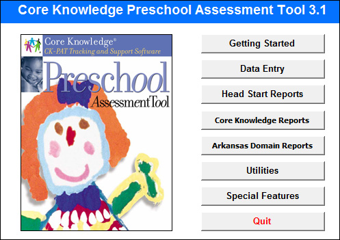 Core Knowledge Pre-School Assessment Tool by Media Orange