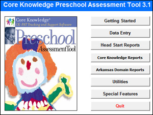 Core Knowledge Preshool Assessment Tool