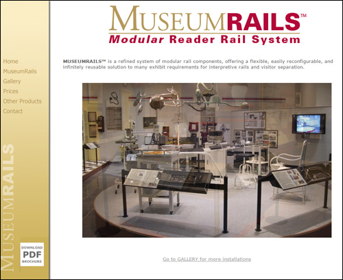 Museum Rails by Media Orange