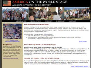 America on the World Stage Teaching American History Grant Project