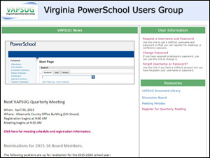 Virginia Power School Users Group