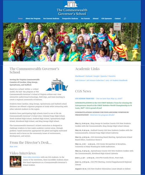 Commonwealth Governor's School by Media Orange