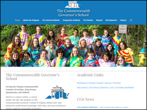 Commonwealth Governor's School Web Site by Media Orange