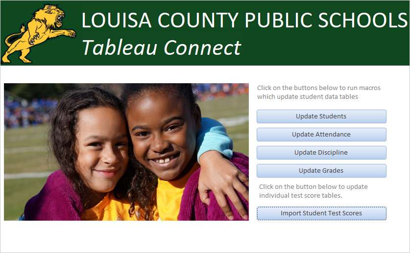 Louisa County Public Schools Data Warehouse
